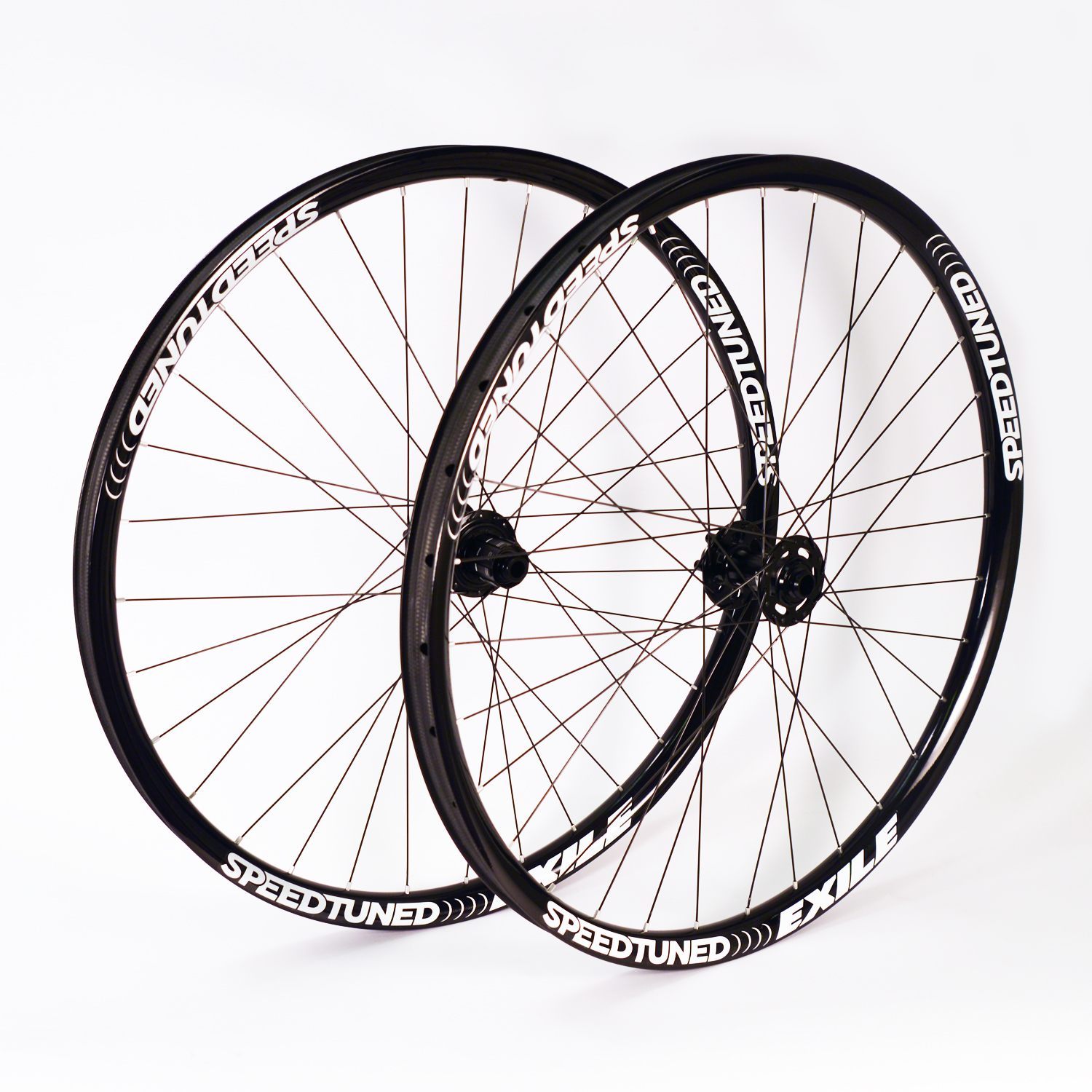Speed Tuned Exile Carbon Bicycle Wheel Set